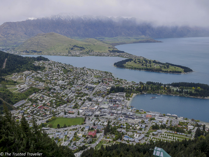 The view from the Skyline Gondola - Two Week New Zealand South Island Road Trip Itinerary - The Trusted Traveller