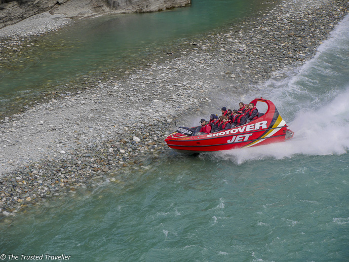 The Shotover Jetboat - Two Week New Zealand South Island Road Trip Itinerary - The Trusted Traveller