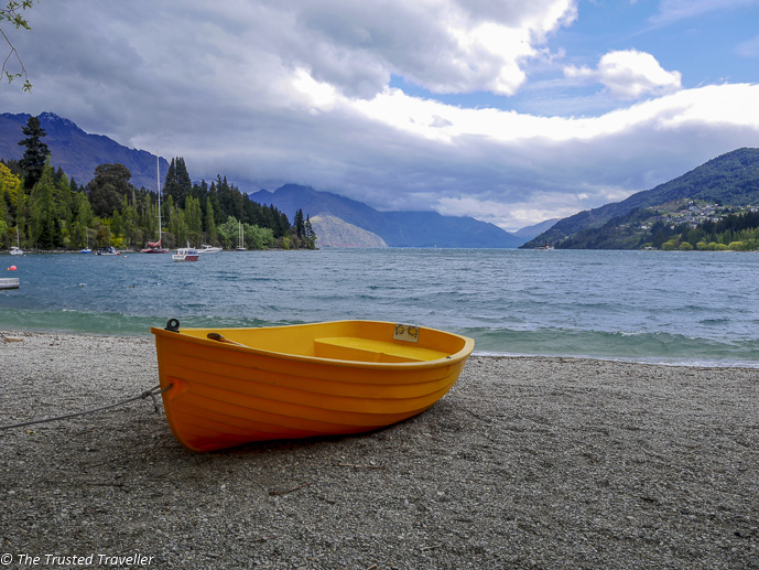 Lake Wakatipu in Queenstown - Two Week New Zealand South Island Road Trip Itinerary - The Trusted Traveller