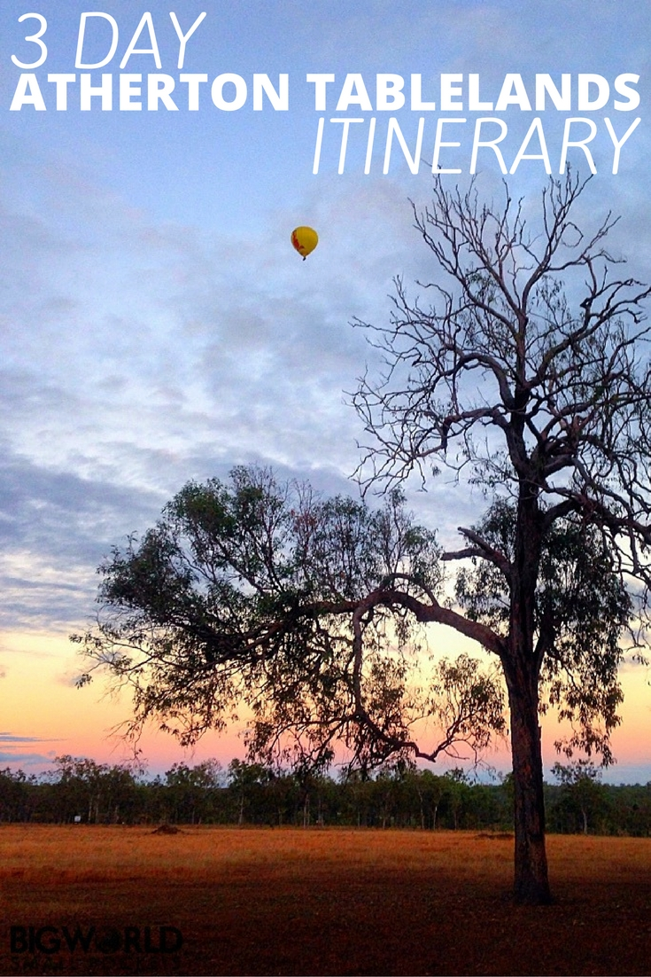 Hot Air Balloon - 3 Days in the Atherton Tablelands: The Perfect Self-Drive Itinerary - The Trusted Traveller