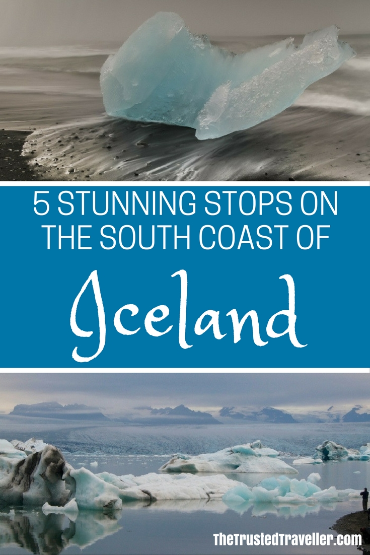 Glacial lagoons and beaches like nowhere else on earth - 5 Stunning Stops on the South Coast of Iceland - The Trusted Traveller