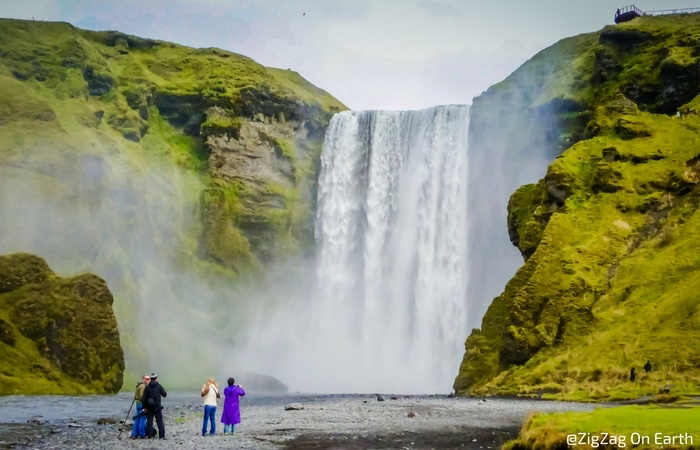 Skogafoss waterfall Iceland - 5 Stunning Stops on the South Coast of Iceland - The Trusted Traveller