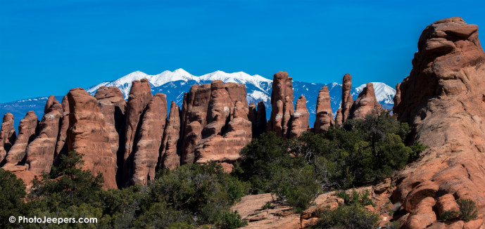 Devils Garden fins Arches National Park Utah - 10 Things to Do in Arches National Park - The Trusted Traveller