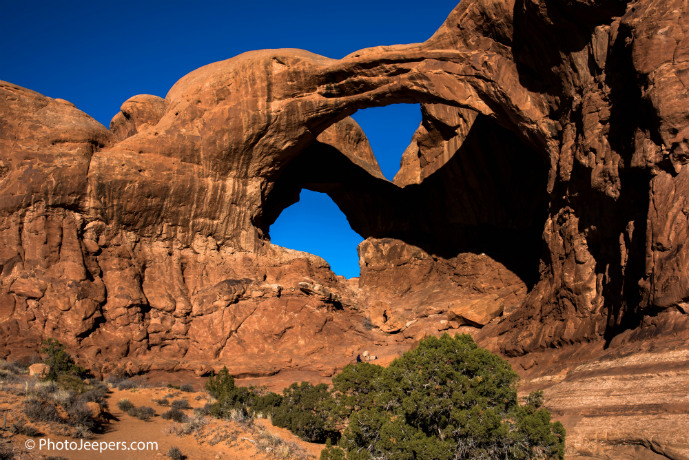 Double Arch Arches National Park