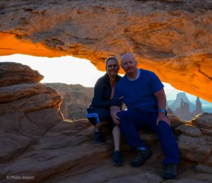 Dave-Jamie-Photo-Jeepers-Mesa-Arch-Canyonlands-copyright - Canyonlands National Park - Island in the Sky - The Trusted Traveller