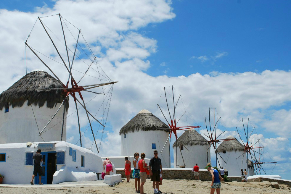 mykonos_traditional windmills- 5 Gorgeous Cycladic Islands to Visit - The Trusted Traveller