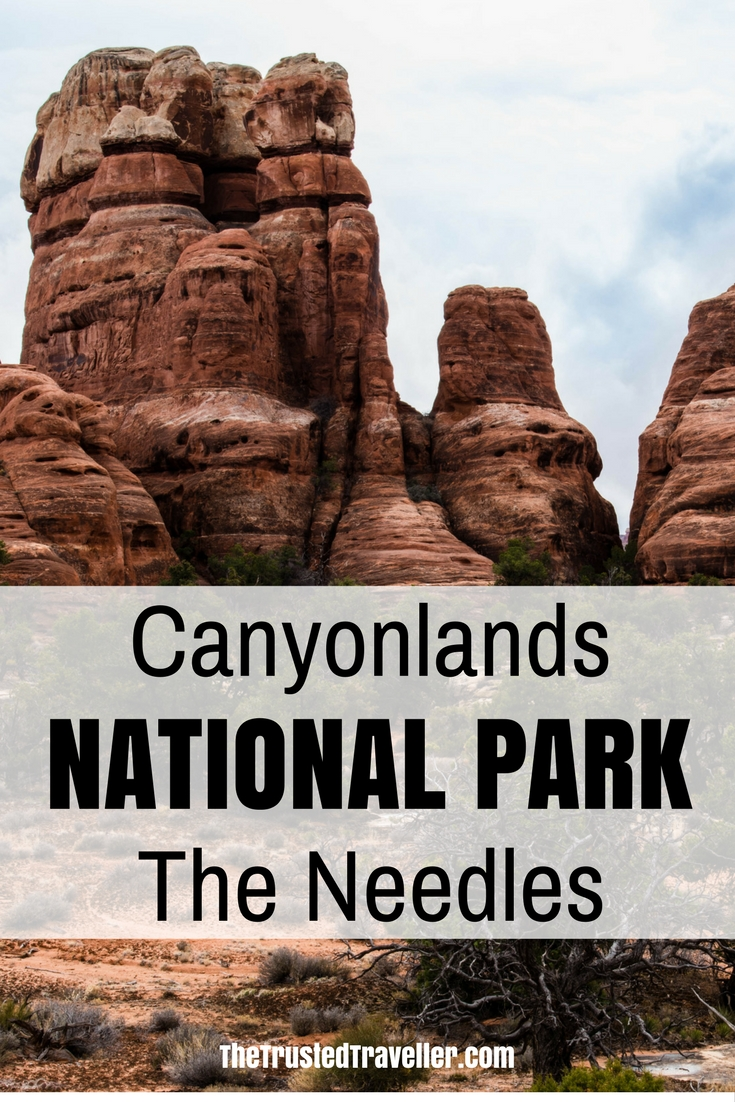 Needles Canyonlands Utah view Elephant Hill - Canyonlands National Park - Needles - The Trusted Traveller