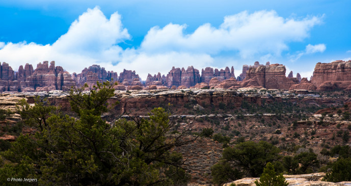 Needles rock formations Canyonlands Utah - Canyonlands National Park - Needles - The Trusted Traveller