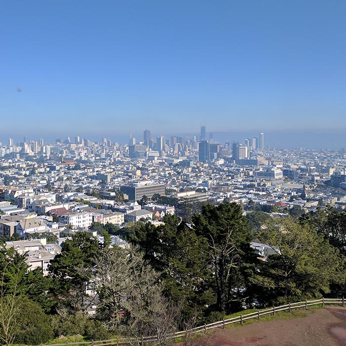 Corona-Heights-Park - 24 hours in San Francisco: Off the Beaten Track - The Trusted Traveller
