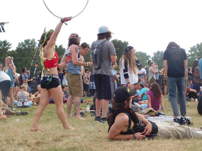 Festivalgoers at Euphoria, which takes place every year in the spring - Planning a Trip to Austin, Texas - The Trusted Traveller