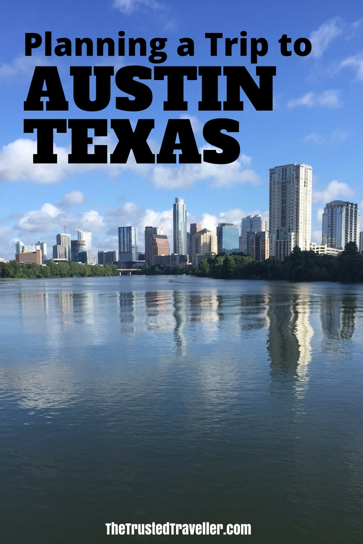 Along the Ann and Roy Butler Hike and Bike Trail - Planning a Trip to Austin, Texas - The Trusted Traveller