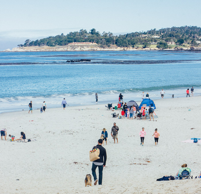 Carmel beach - Exploring the Charm of Small Californian Towns - The Trusted Traveller