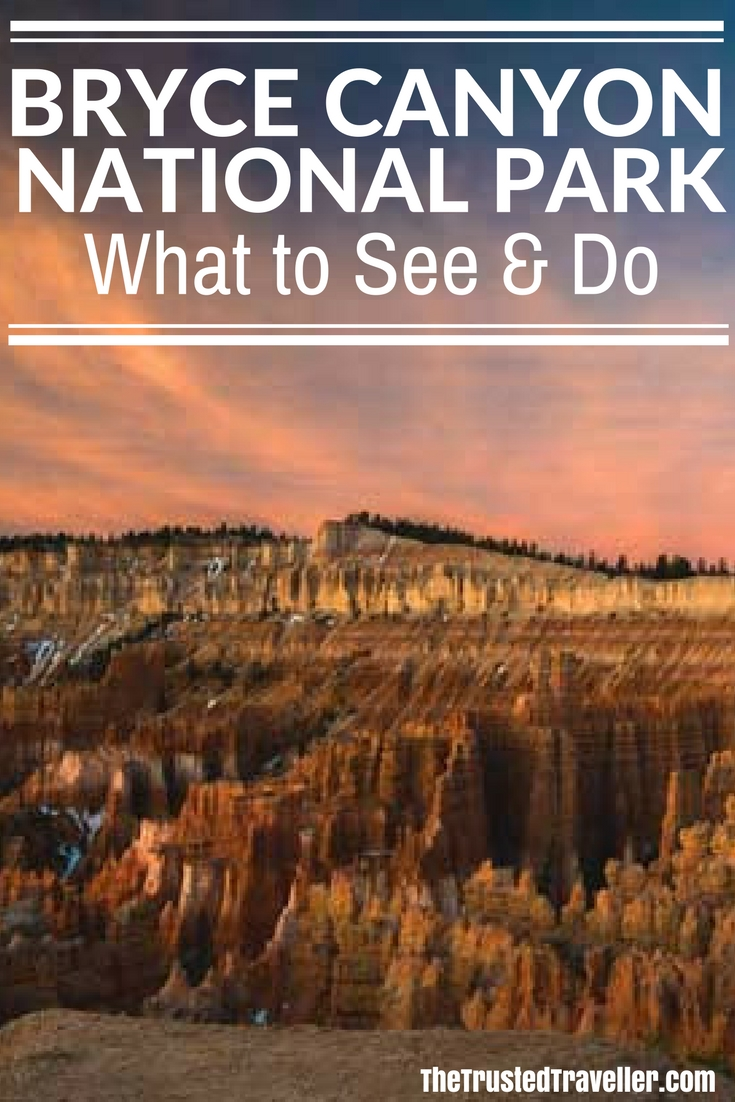 Sunset Point Sunrise - Bryce Canyon National Park - The Trusted Traveller