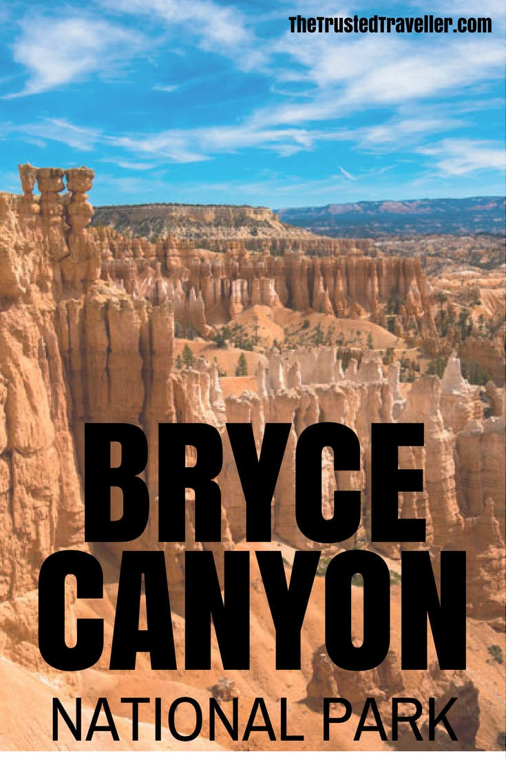 Thors Hammer Sunset Point hoodoos - Bryce Canyon National Park - The Trusted Traveller