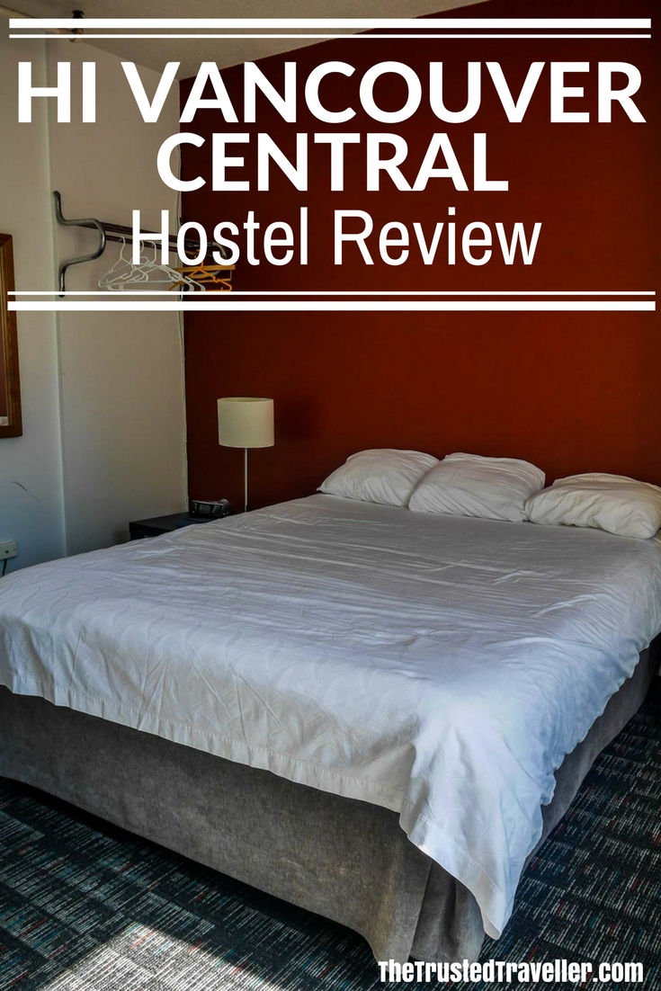Comfortable and spacious private ensuite rooms at the HI Vancouver Central - Hostel Review: HI Vancouver Central - The Trusted Traveller