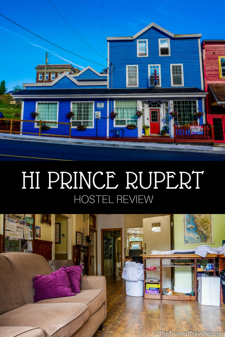 Quaint, homely and packed full of facilities, HI Prince Rupert Pioneer Guesthouse is the best choice for a place to stay in Prince Rupert - Hostel Review: HI Prince Rupert Pioneer Guesthouse - The Trusted Traveller