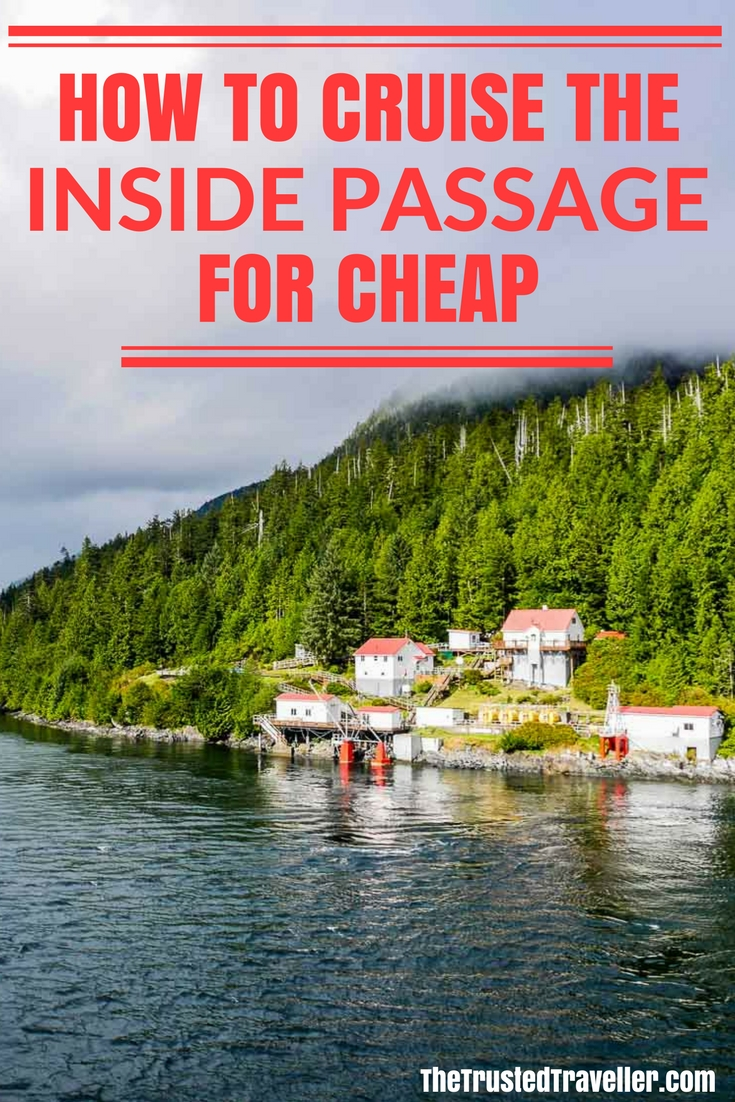 Boat Bluff, the half way point of the BC Ferries Inside Passage Day Cruise - How to Cruise the Inside Passage for Cheap - The Trusted Traveller