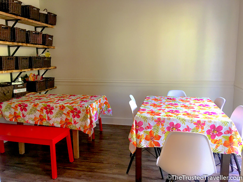 The sunny dining room - Hostel Review: HI Prince Rupert Pioneer Guesthouse - The Trusted Traveller