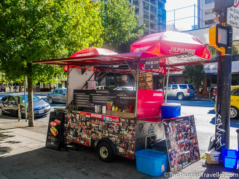 JapaDog Food Cart - Tasting My Way Through Vancouver's Best Food Trucks - The Trusted Traveller
