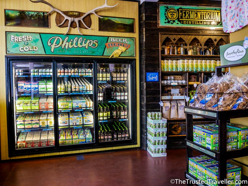 Inside Phillips Brewing Shop - How to Visit the Best Craft Breweries in Victoria BC - The Trusted Traveller
