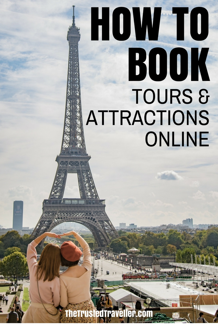 How to Book Tours & Attractions Online - The Trusted Traveller