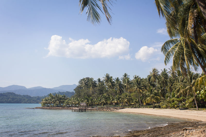 Long Beach, Koh Chang - One Week Island Hopping in the Gulf of Thailand: Koh Chang, Koh Kood, Koh Mak - The Trusted Traveller