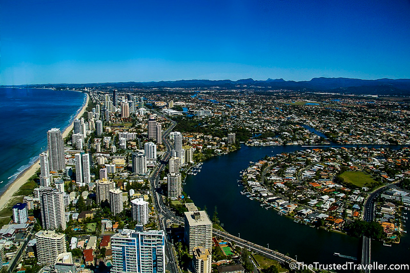 Stunning views of the Gold Coast - Things to Do on the Gold Coast - The Trusted Traveller