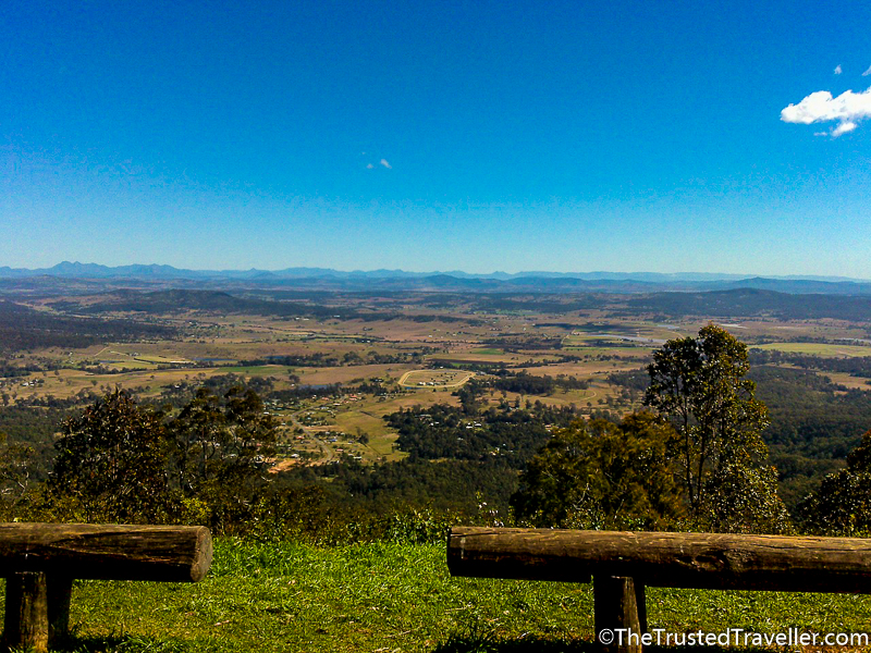 The view from Mt Tamborine - Things to Do on the Gold Coast - The Trusted Traveller