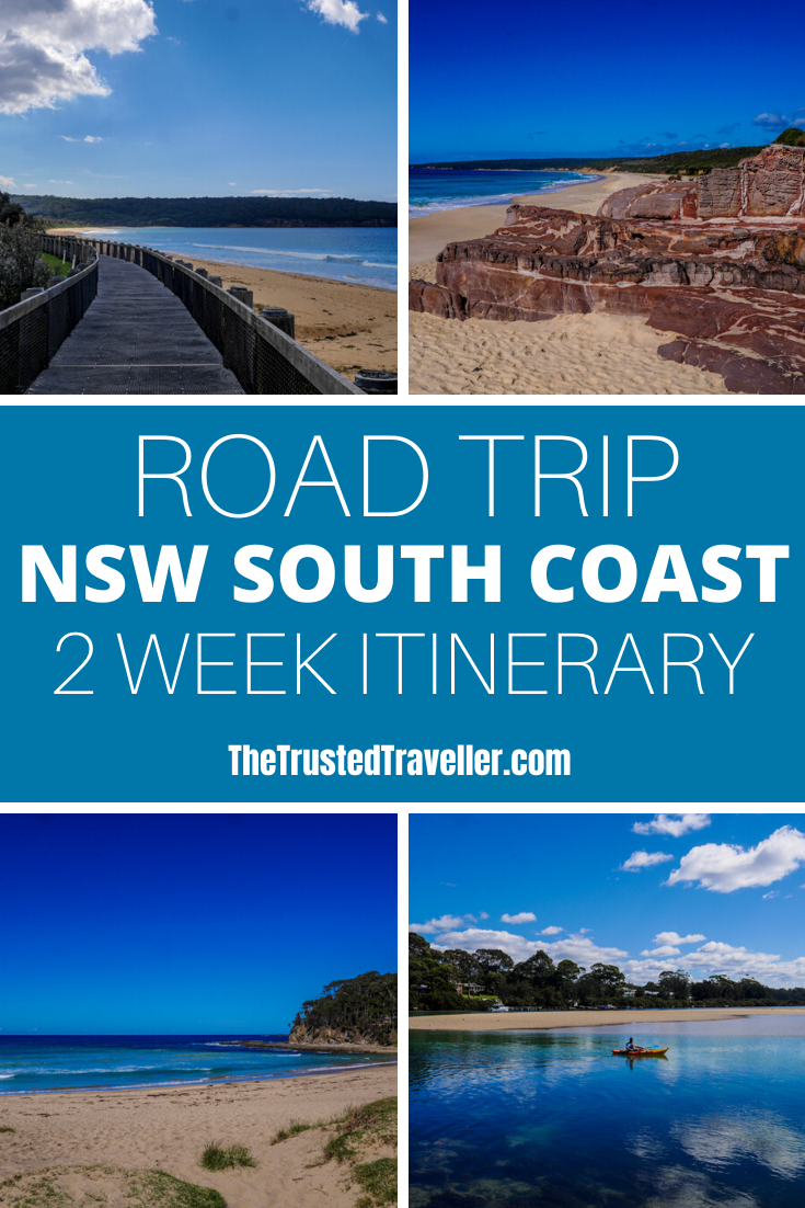 Two Week NSW South Coast Road Trip Itinerary - The Trusted Traveller