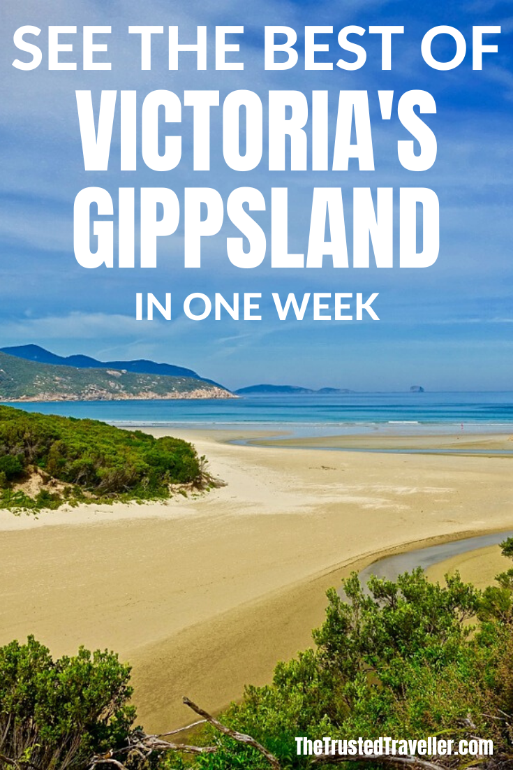 One Week Gippsland Victoria Itinerary - The Trusted Traveller